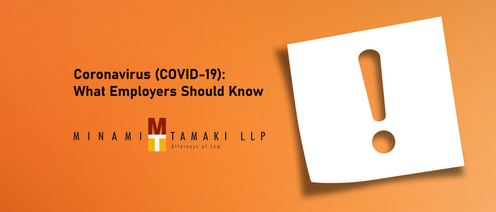 Coronavirus (COVID-19): What Employers Should Know